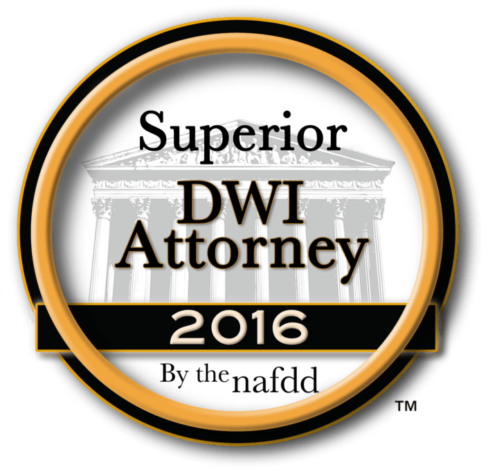 Superior DWI Attorney 2016 Award