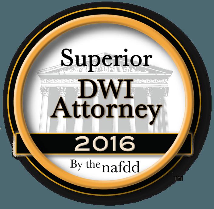 Superior DWI Attorney 2016 Award